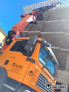 grua petrer camion autocargante palfinger