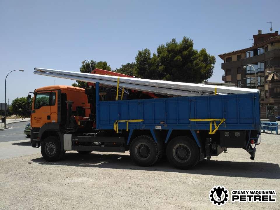 Camion grua petrer elda sax monovar novelda