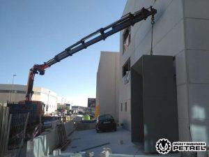 Nave las atalayas Alicante camion grua petrer